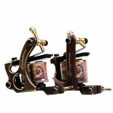2 pcs Brass Tattoo Machine Straight Shader Circle Liner d