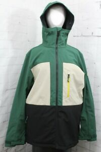 686 Smarty Phase 3-in-1 Softshell Snowboard Jacket Mens Large Pine Green New