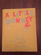 1959 A Little Donkey Un Petit Ane by Matias Charles Henrioud