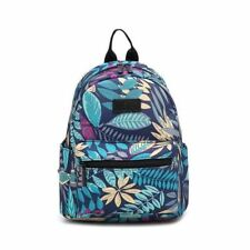 Solid Softback Canvas Casual Style Red Color Backpack for Girl Fashion