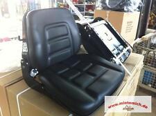 Gabelstaplersitz GS12 Baumaschinensitz Staplersitz Treckersitz Schleppersitz !!