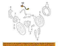 GM OEM ABS Anti-lock Brakes-Rear Speed Sensor 23348259