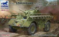 Bronco CB35115 1/35 T17E1 STAGHOUND MK.I Armored Car with 12 Feet Assault Bridge