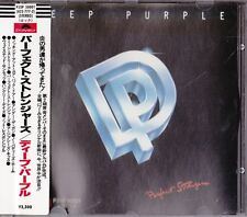 Deep Purple perfect Stranger Japan 1st CD Obi P33P 50001/matrix.823 777-2 Rare!