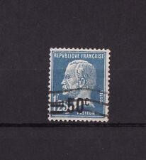 timbre France   Pasteur surchargé   50c sur 1f25   num: 222  oblitéré