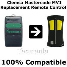 Clemsa mastercode Mv1 Universal clonación Control Remoto Reemplazo fob 433 Mhz