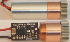 1W 520nm NUGM01T Laser Diode In Copper Module W/X-Drive & Glass Lens