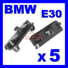 BMW E30 FRONT BUMPER SPOILER APRON SKIRT TRIM CLIPS CLAMP CLIP FOR LOWER STRIP