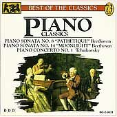 Piano Classics: Beethoven & Tchaikovsky  Beethoven  Audio Cassette