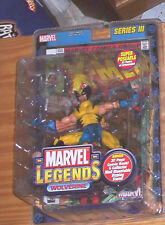 MARVEL LEGENDS Series 3 III X MEN YELLOW WOLVERINE ACTION FIGURE