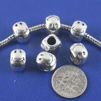 40pcs dark silver color 2sided fruit design spacer  bead  EF2680