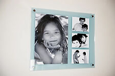 """All colors acrylic perspex multi picture photo frame for 12x16""""/ A3 & 5x7""""  pixi"""