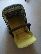 Mamas and Papas Sola pushchair seat, lime, very good condition