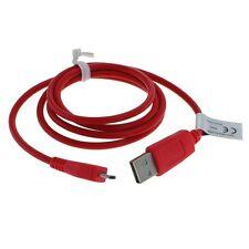 Micro USB Datenkabel und Ladekabel Rot für JBL Charge 2+ ✔ BLITZVERSAND ✔ (OT11)