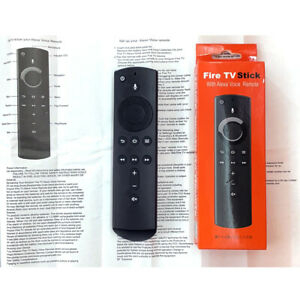 New L5B83H For Amazon 2nd Gen Alexa Voice Fire TV Box Remote Control With Volume