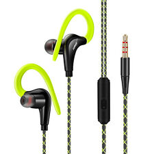 Waterproof IPX5 Earphone Sport Running Headphone Stereo Bass Headset With Mic