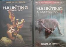 HAUNTING IN CONNECTICUT, THE 1&2: Ghost of Georgia- Virginia Madsen- NEW 2 DVD
