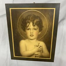 St. John The Baptist As A Child by Bosseron Chambers 1920s