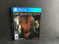 MGSV The Phantom Pain PS4 ARTWORK ONLY Authentic