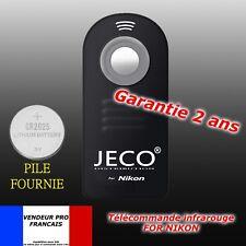 Telecommande infrarouge sans fil pour NIKON D3200 D7000 D5000 D600 D80 D90 ML-L3