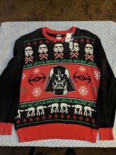 Star Wars Black/Red Holiday Sweaters Size-Xl
