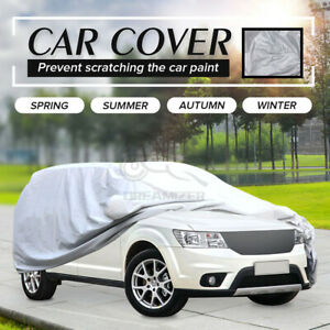 SUV Universal Car Cover Outdoor Waterproof UV Rain All weather Protection YXL