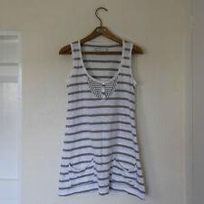 White Stuff Hip Length Sleeveless Basic T-Shirts for Women