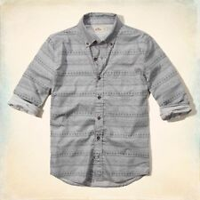 Hollister Checked Slim Casual Shirts & Tops for Men