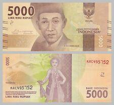Indonesien / Indonesia 5000 Rupiah 2016 Nationalhelden unz.