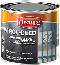 Owatrol Deco 2,5l weiss 31,96€/l Farbe Anstrich Stein Kunststoff Pflege