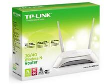 Wireless Router 4 Port Switch Tp-Link TL-MR3420 3G 4G Max 300Mbps