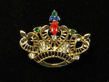 Red Hat Hi Society Rhinestone Crown Pin