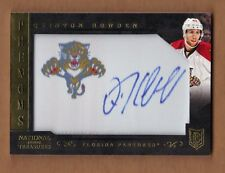 2013/14 National Treasures QUINTON HOWDEN Logo Patch Rookie Auto Panthers