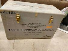 U.S. Naval Ship Model Basin Tmb 2-Component Pallograph David Taylor