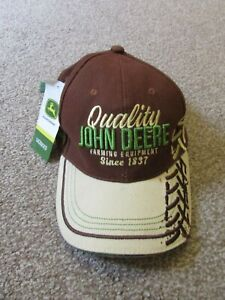 Brand New with tags BNWT official genuine John Deere mens adult baseball hat cap