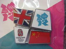 LOT of 35 PILondon 2012 Olympic Bridge Pin - Beijing/London - Beijing to London