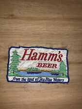 Vtg Hamms Beer Patch