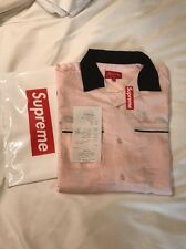 Supreme Playboy Bowling Shirt Pink-MEDIUM M: SOLD OUT -100% authentic