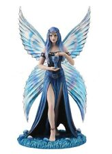 """10.25"""" Enchantment By Anne Stokes Fairy Home Gothic Decor Statue Sculpture"""
