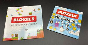 Original Instructions & Challenge Poster for Bloxels Video Game Builder FFB15