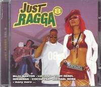Just Ragga Reggae Music CD Dancehall Various Artists Compilation Sealed Album