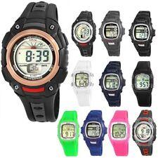 Relojes de pulsera digitales de luz de mujer