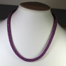 Kumihimo Necklace with Spring Clasp