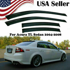 For Acura Tl Sedan 04-08 Window Visor Vent Rain Guard Sun Shade Trim Deflector