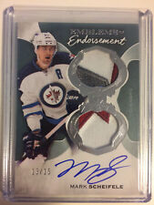 16-17 UD Upper Deck The Cup Emblems Of Endorsement #EE-MS MARK SCHEIFELE /15