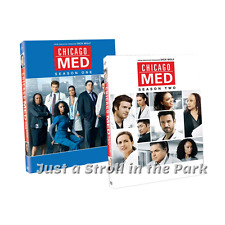 Chicago Med: Complete Medical TV Series Seasons 1 & 2 Box / DVD Set(s) NEW!