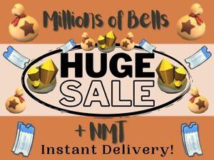 ⚡ Bells & Nook Miles Tickets - Gold Tools, Materials⚡ Online Now Quick Delivery