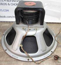 Vintage 1955 Jensen F15LL Field Coil Concert Series Speaker Red Label EM