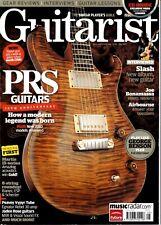 Guitarist Magazine+CD Issue #328 May10~PRS 25th Anniversary~Martin 15-Series