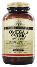 Solgar Omega-3 EPA & DHA Triple Strength 950 mg, 100 Softgels